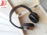 High end fashion wooden Hifi stereo gift headphones with MIC for PC/Mobile phone