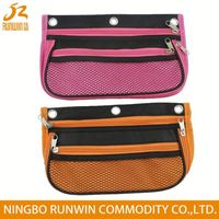 Factory Price Cost Effective two compartments pencil case