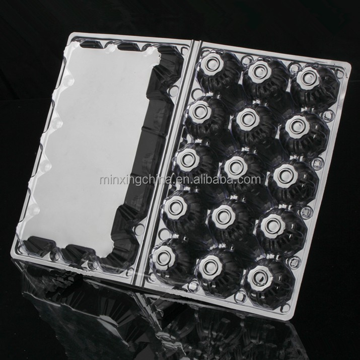 Poultry farm blister egg tray for packing the chicken eggs