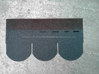 FACTORY DIRECT: BUILDING MATERIAL FISH SCALE Asphalt roof Shingle 100*33.3cm