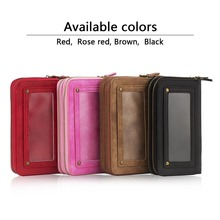 Leather wallet case Cover Case for iPhone 6 Credit Card Slot Wallet PU Leather