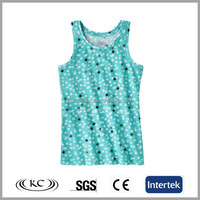 stylish italy hot sale OEM colors cheap singlet for girls