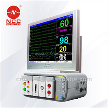 blood pressure monitor-Design hospital monitoring System for blood pressure/EEG /IBP/ ETCO2