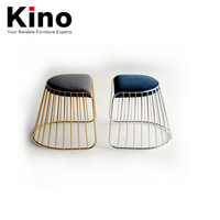 Metal chrome chair/stainless steel plating dining chair stool