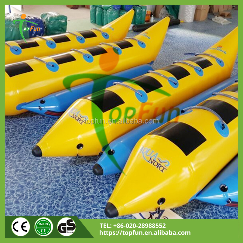 8Seater Double Row Inflatable Banana Boat