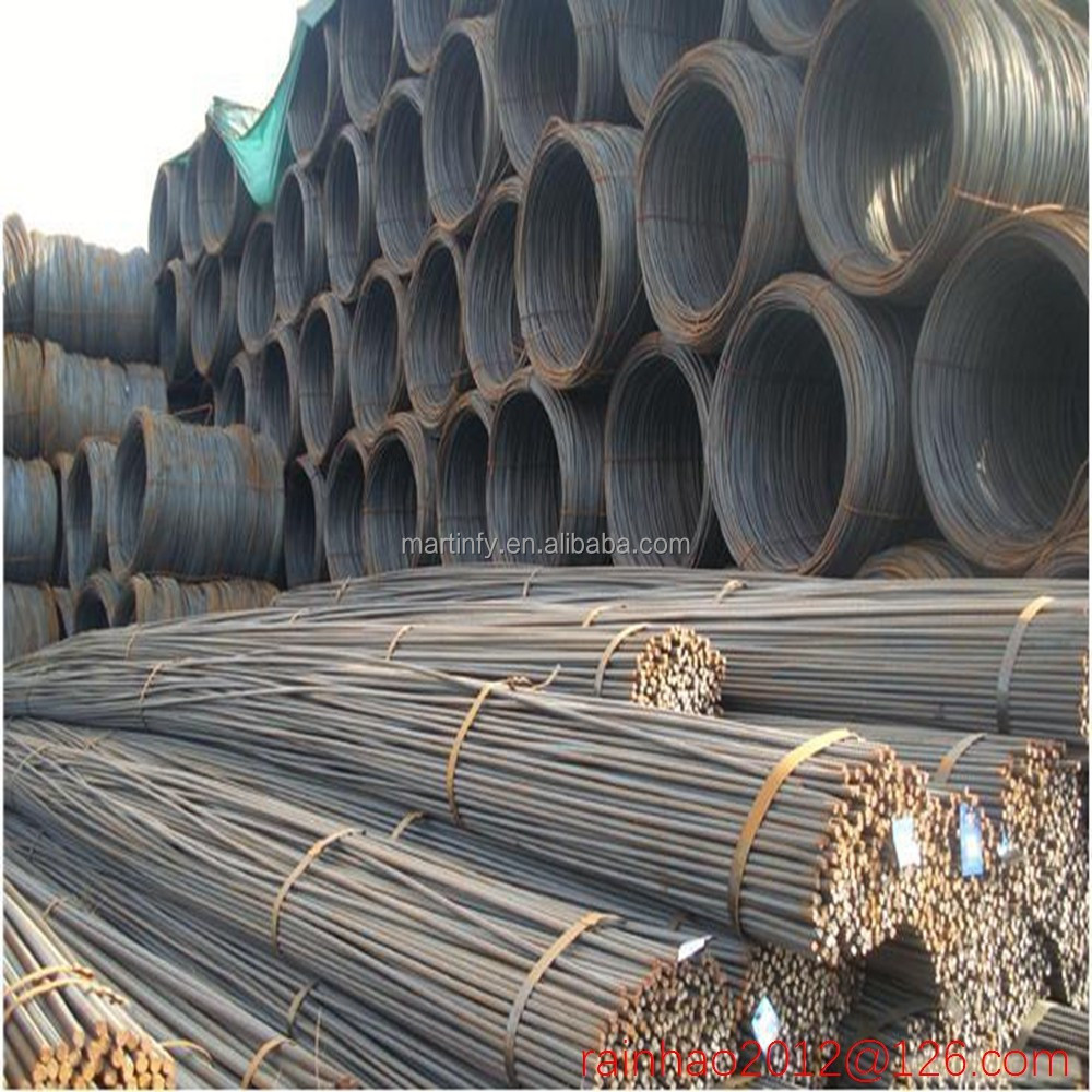a615 bs4449 b500b deformed 10mm 12mm steel rebars in bundles