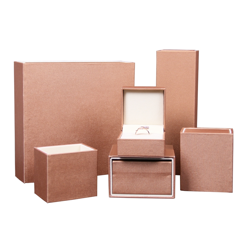 Custom logo printed new jewelry boxes packaging