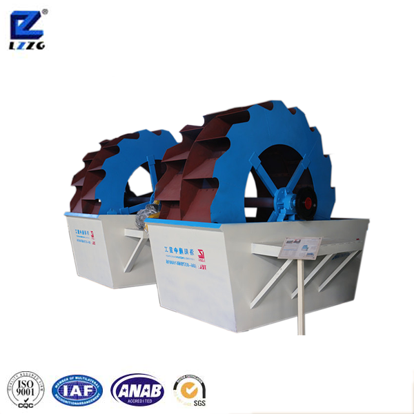 High quality wheel sand washing machine beach cleaning machine for sand production line