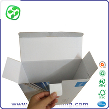 white paper coated corrugated packing box shenzhen, corrugated paper printing box