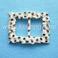 high quality plastic belt buckle plastic buckle round WCK-133