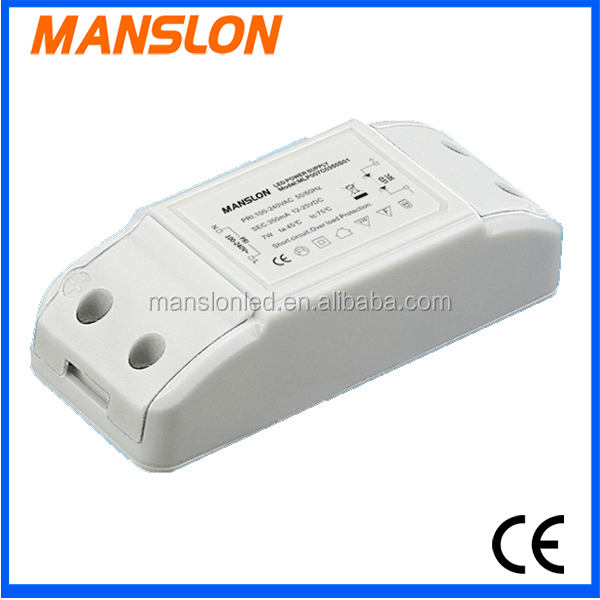 high pfc 7w 350ma constant current dimmable led driver