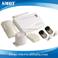 SMS phone calling wireless GSM burglar security alarm with 110dB siren