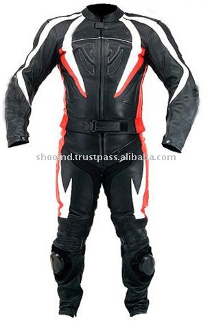 Leather Motorbike Racing Suit,Leather Motor Cycle Jacket