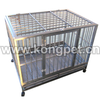 2015 High quality Square Metal Kennels for dogs or cats KE025