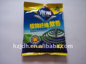 Plant fiber mosquito-repellent incense(green tea type)
