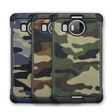 Army shockproof camo leather phone case for Mircosoft Lumia 950/Nokia 950