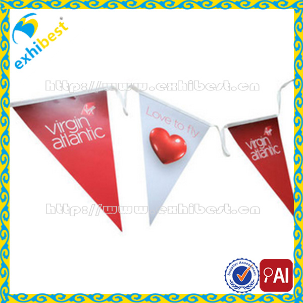 Party bunting string flag line/triangle flag