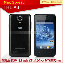 Hot sale ThL A3 Smartphone Android 4.2 MTK6572W Dual Core small size mobile phones