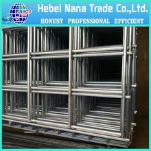 best price 6x6 reinforcing fence welded wire mesh panel