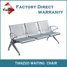 Stainless Steel Waiting Chairs With aluminum arm leg WL800-03