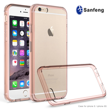 Manufacturing ultra-thin hard shell tpu mobile case cover case for iphone 6s case