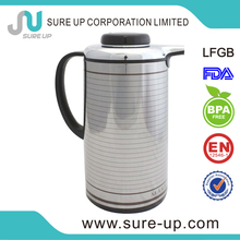 Welcome flask glass refill coffe thermos jug glass with lid(JGBE)