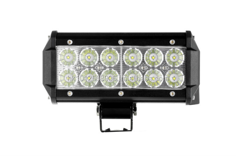 Factory! CREE Super Bright Led Offroad Light bar36W led work light for SUV, JEEP, ATV, 4X4, Heavy duty vehicles