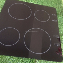 Cheap high quality clear and black ceramic glass