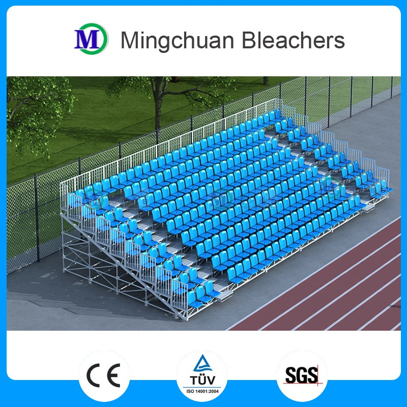 MC-201environmental durable metal structure removable bleacher steel bleacher stadium grandstand seats for outdoor sports