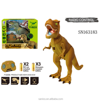 3D dinosaur toys tyrannosaurus rex with infrared laser induced for kids