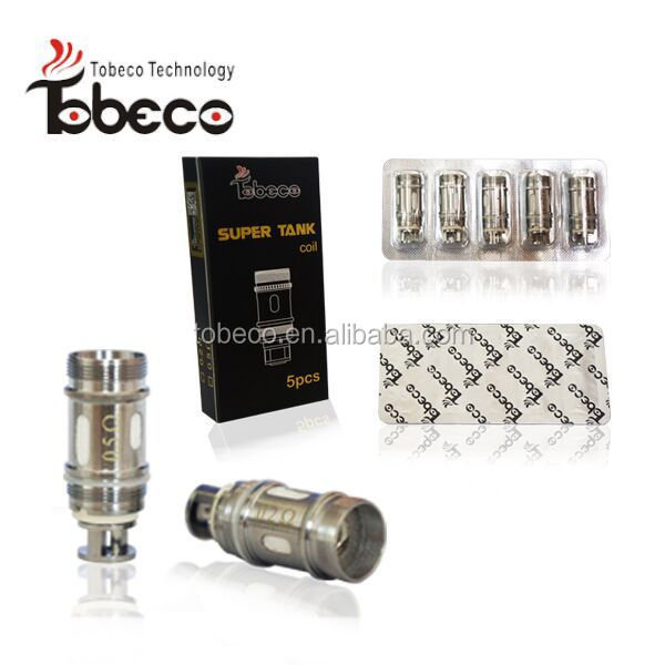Tobeco high quality authentic sub ohm tank rebuildable atomizer super tank rda