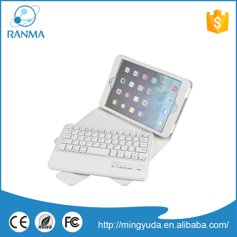 Wholesale cheap pu stand tablet keyboard case for ipad mini 2