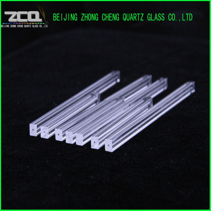 Rectangular Capillary Quartz Glass Tube with roundness inside
