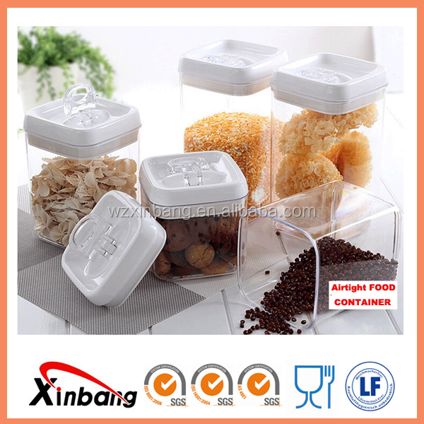 Pepper Chillies Hiqh quality food grade safe plastic seal pot airtight food container