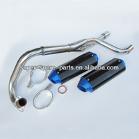 2013 hot selling motorcycle stainless steel muffler