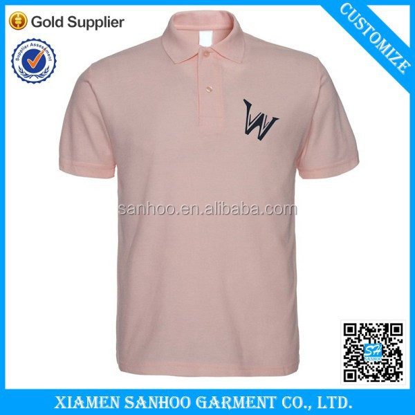High Quality Customized Logo Embroided Polo T Shirt With Wholesale Price