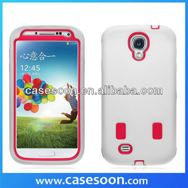 Hybrid Impact 3 Color TPU Shockproof Rugged Case for Samsung Galaxy S4 S5 S6 phone case