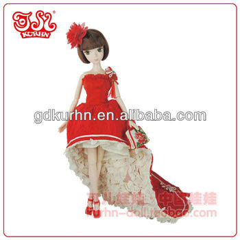Handmade bride fashion toy girl doll