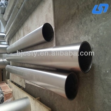 Spining Process gr1 pure extruded titanium tube pipe
