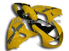 For Suzuki TL1000R 98-02 ABS Racing Motorcycle Fairing Yellow/Black