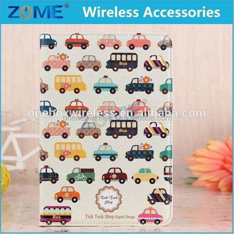 For iPad Mini2 Factory Supply Customized Leather Flip Tablet Case