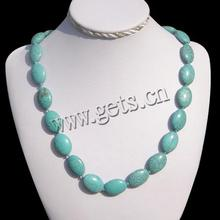 turquoise gold plated fashion necklace