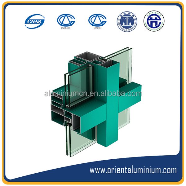 Wholesale CHINA TOP Aluminium Frame Profile for Glass/Curtain Wall
