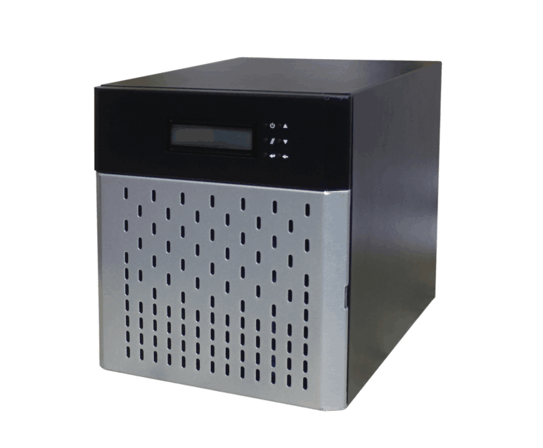 NAS 4bays Mini Tower Server Case Computer Case Of Storage Rack Case