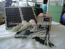 dc solar power system 12W DC Home Solar Power System Smart Power Solar Lighting System