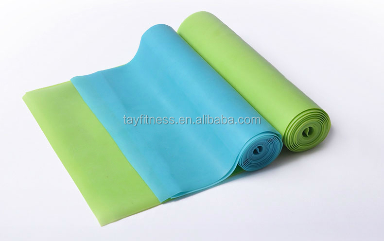 Nature latex Body building yoga fitness slimming stretch band