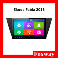 9 inch Android Car radio with multimedia navigation system Car DVD player for Skoda Fabia