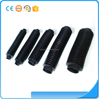 silicone Customized Flexible silicone rubber bellows