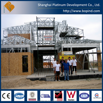 Prefabricated House Prefabricated Light Steel Frame Housing For Sale