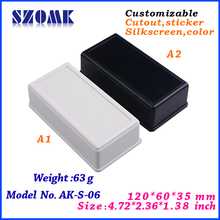 High quality electronic plastic box small enclosures